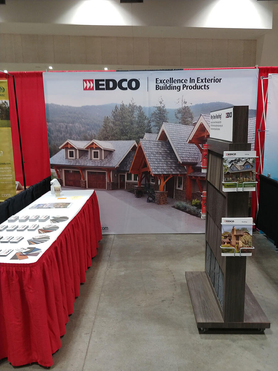 Plaudit Design Client EDCO's Tradeshow Booth