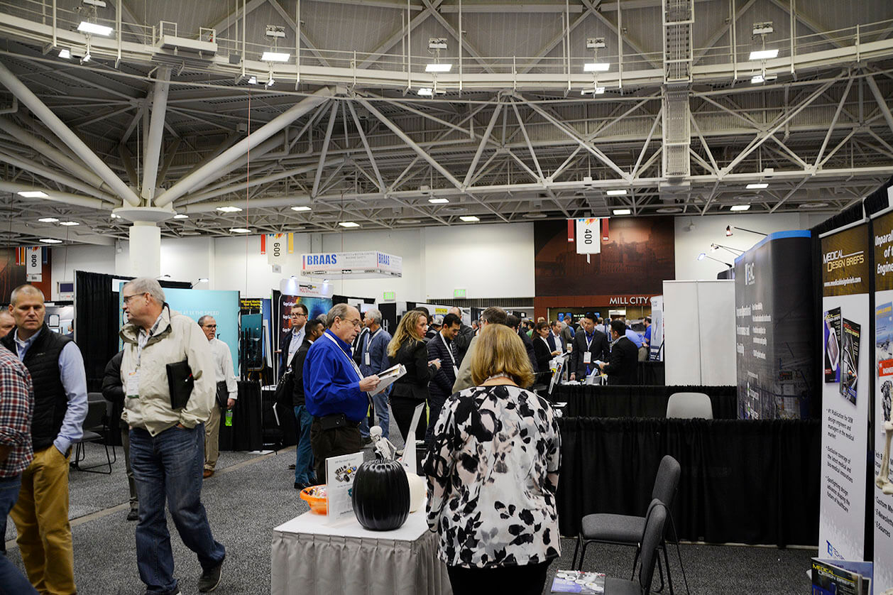 Attendees on the Expo Floor