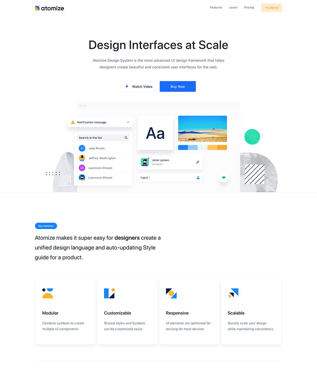 Atomize Design Card Styles