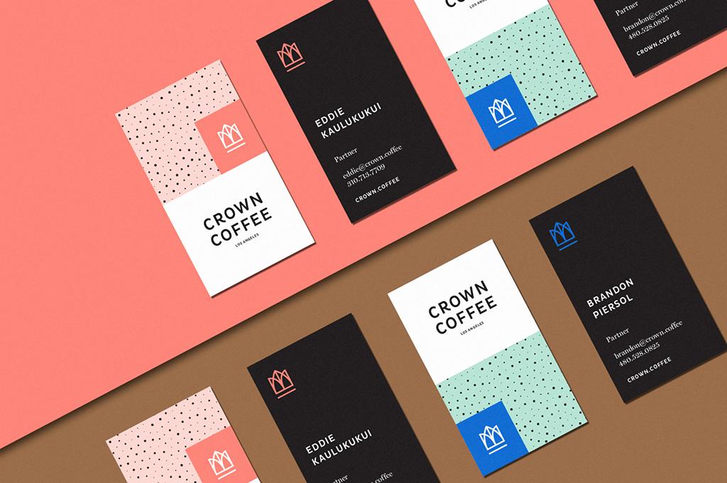 Crown Coffee 2018 Rebrand