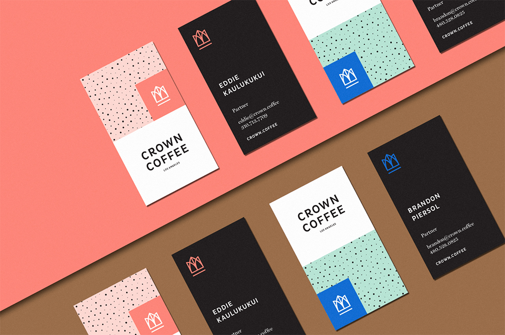 Crown Coffee 2018 Rebrand