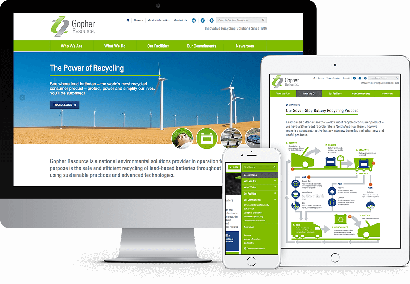 Responsive web design for Minneapolis company