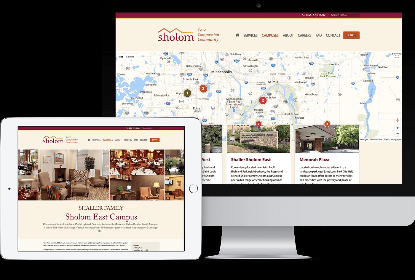 Twin Cities responsive website design