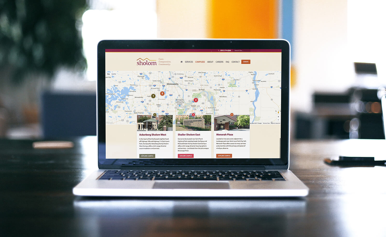 Website Design for Twin Cities Nonprofit