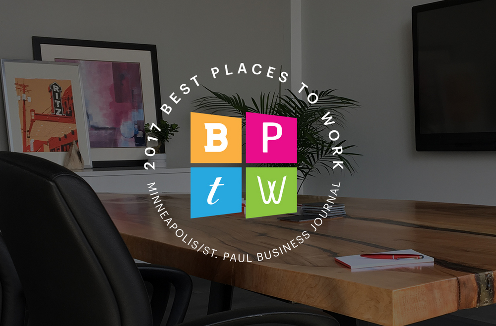 Best Places to Work in the Twin Cities by the Minneapolis St. Paul Business Journal