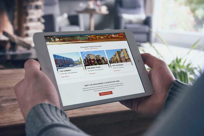 Dominium Apartments' Website Design