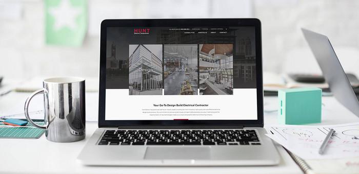 Hunt Electric Website Design