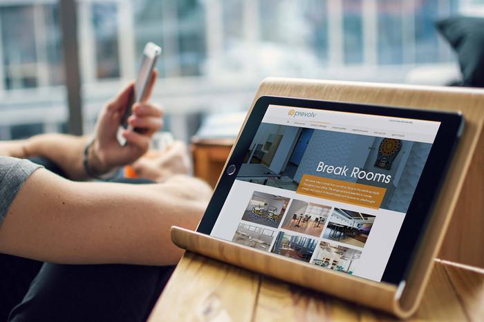 Prevolv's website design, Minneapolis